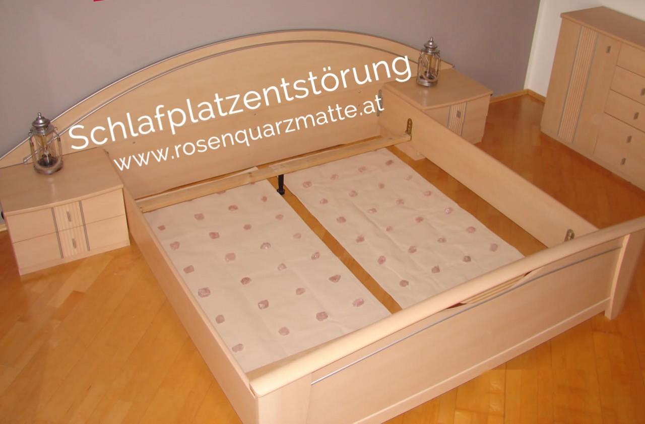 Störungsfrei schlafen, Rosenquarzmatte